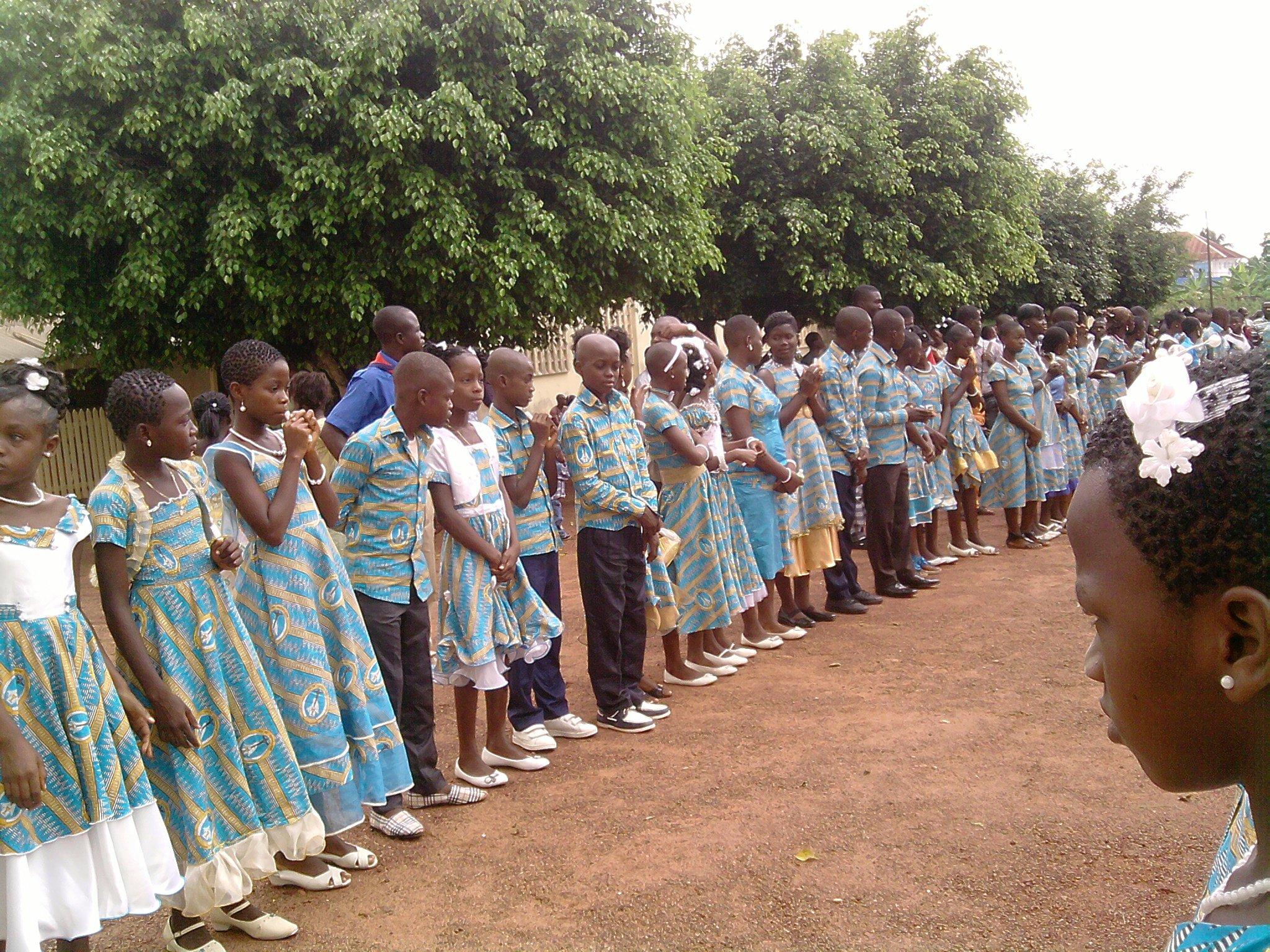 Les nouveaux baptisés du 03 Mai 2012